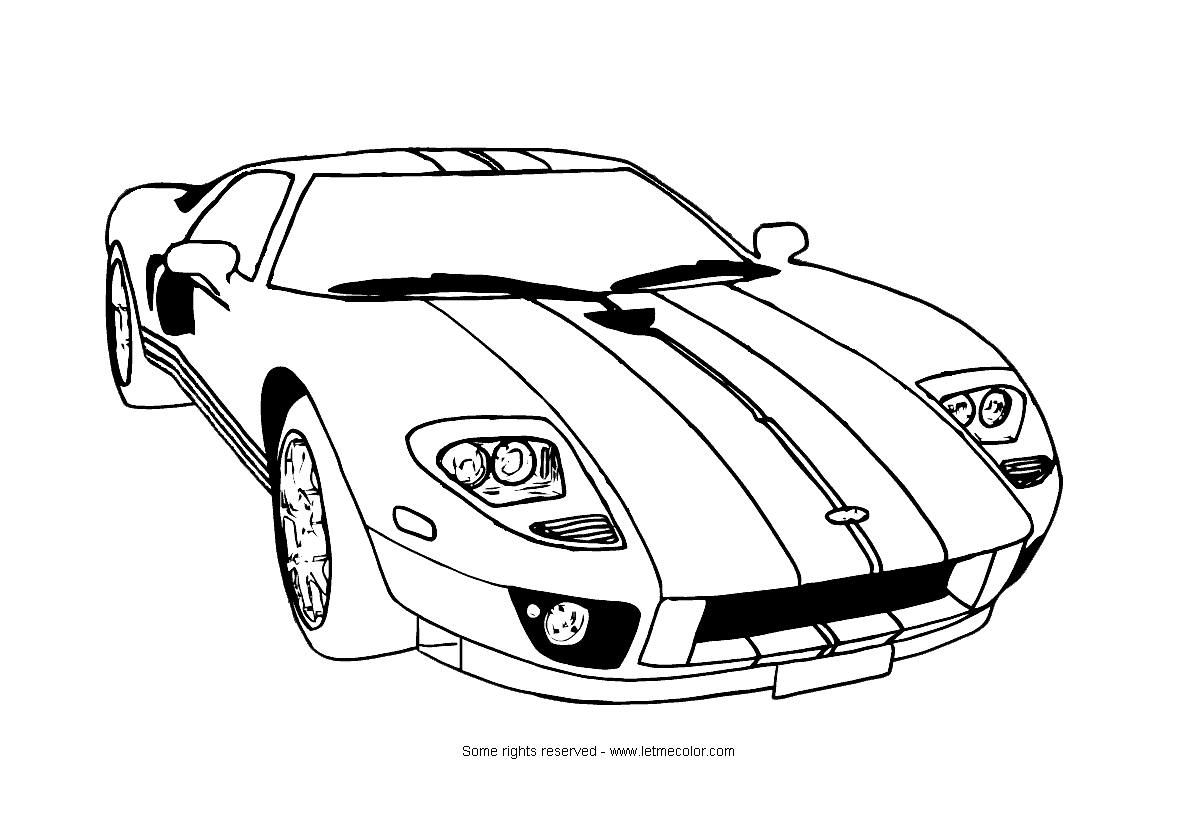 clic corvette coloring pages panda printable how to draw - Stingray Coloring Pages Printable