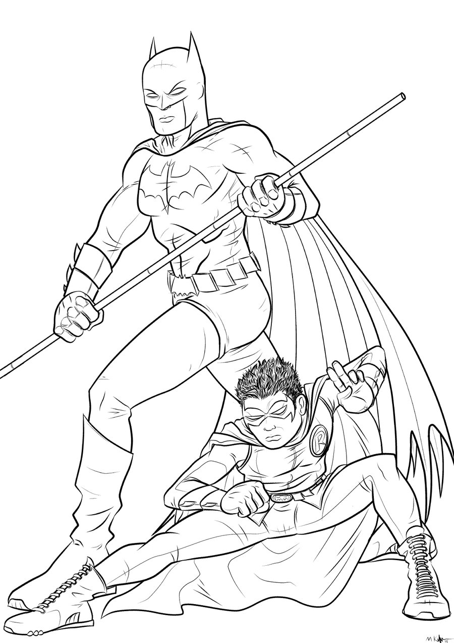 It's just a photo of Epic batman and robin coloring pages