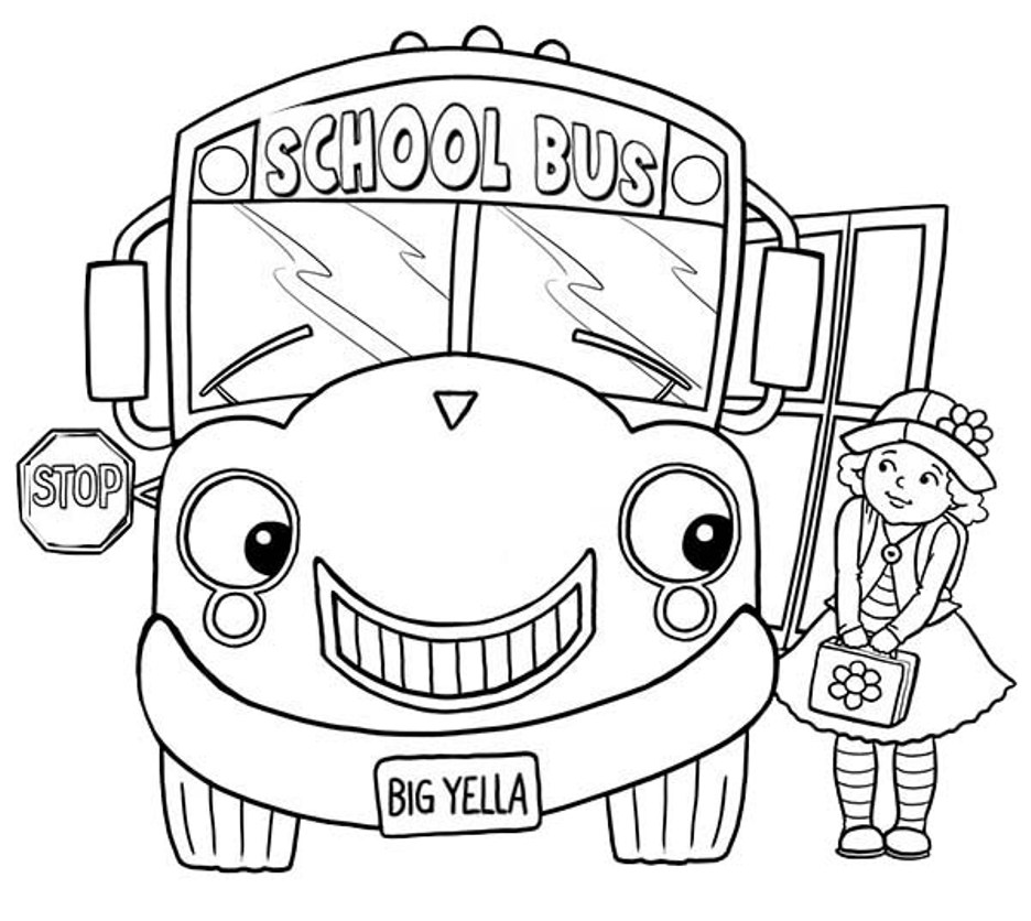 tayo the bus coloring pages - photo#27