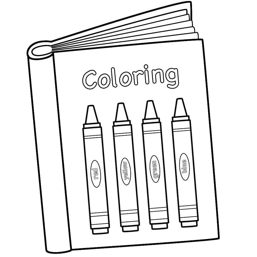 book coloring pages - Fieldstation.co