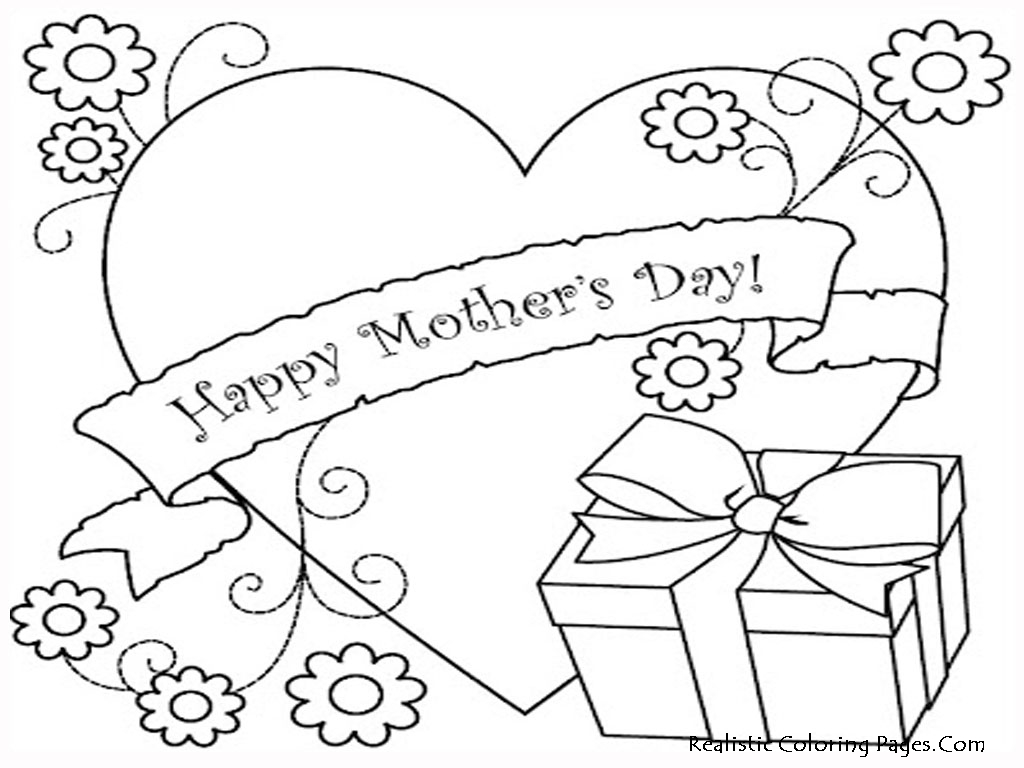 Coloring pages mother's day