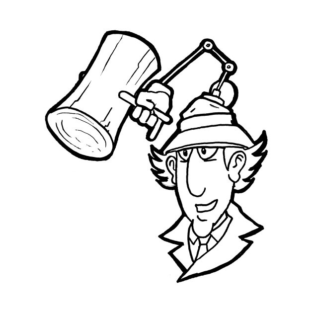 Inspector Gadget Coloring Pages To Download And Print For Free