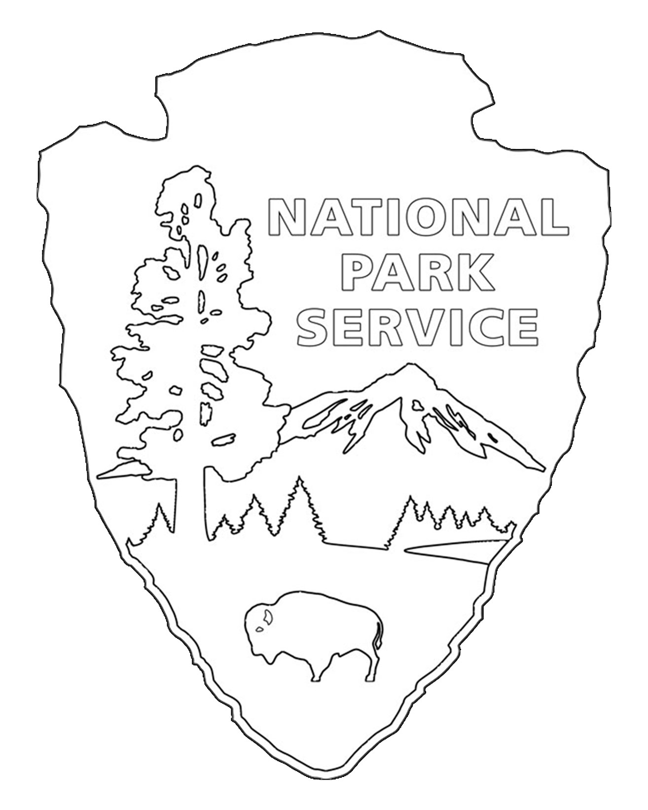 Free coloring pages national parks - Rock Climbing Coloring Pages