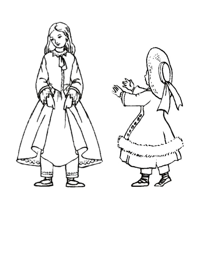 victorian coloring pages to print - photo#8
