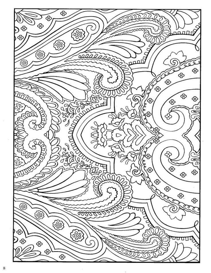 Pattern animal coloring pages download
