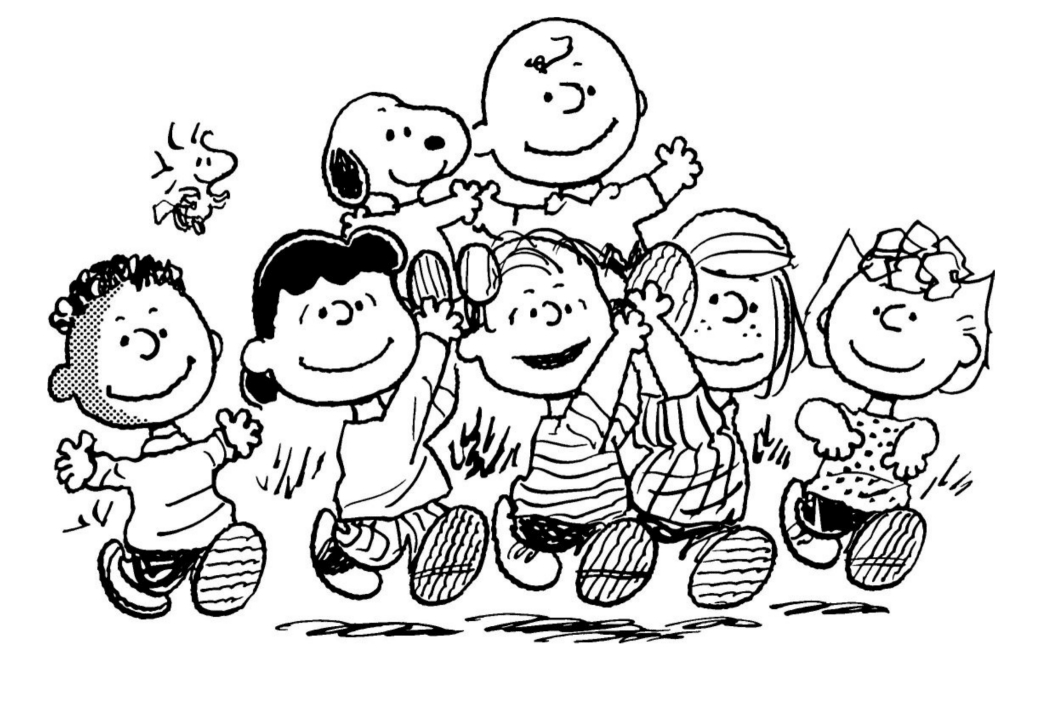 peanuts character coloring pages - photo#16