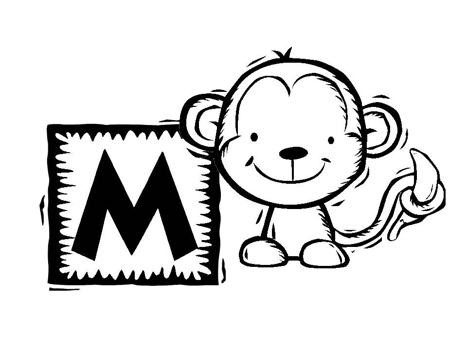 justice monkey coloring pages download and print for free