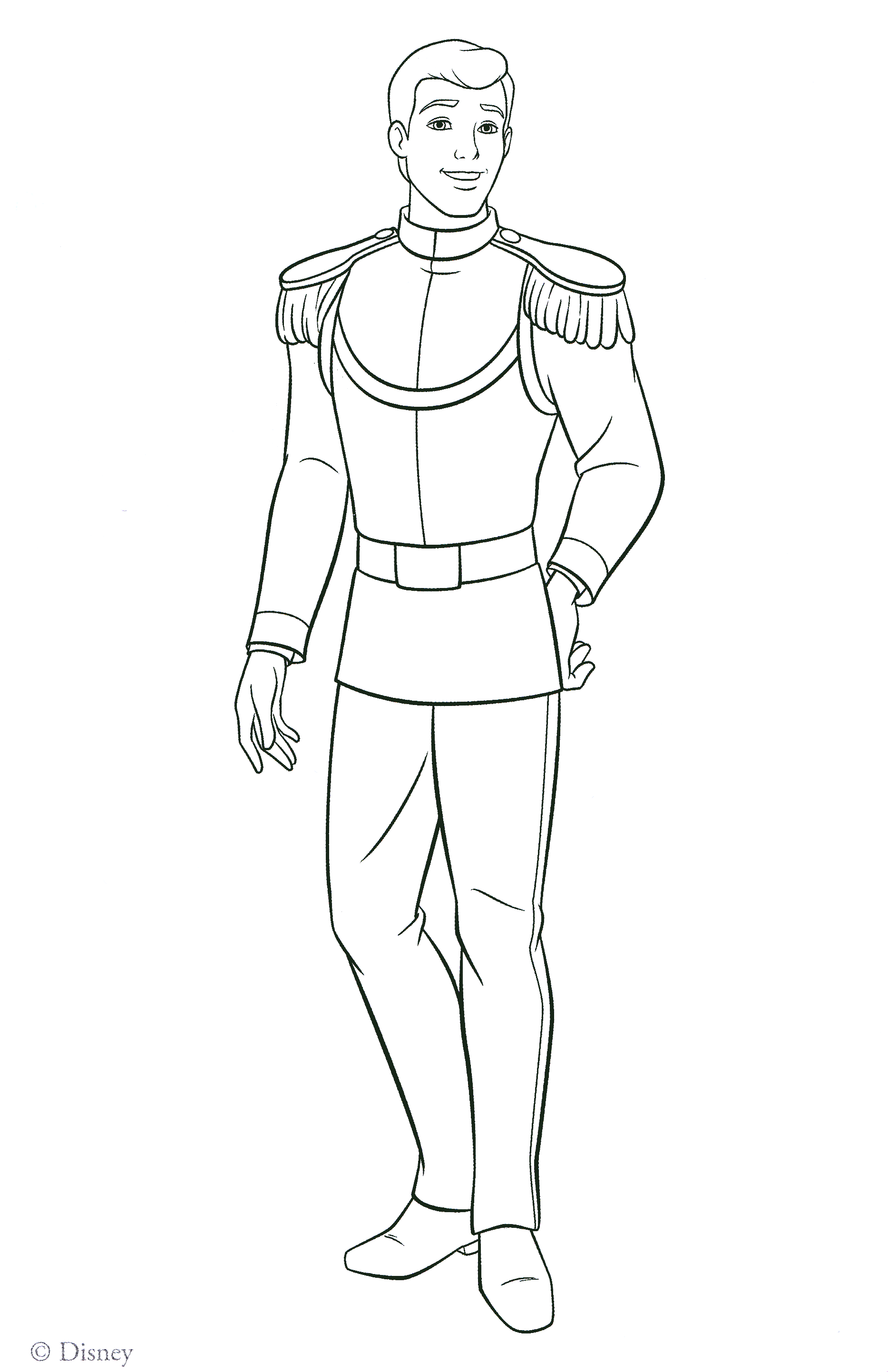 It is a picture of Gargantuan Prince Coloring Page