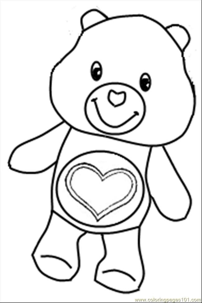 This is a graphic of Simplicity Lname Bear Coloring Page