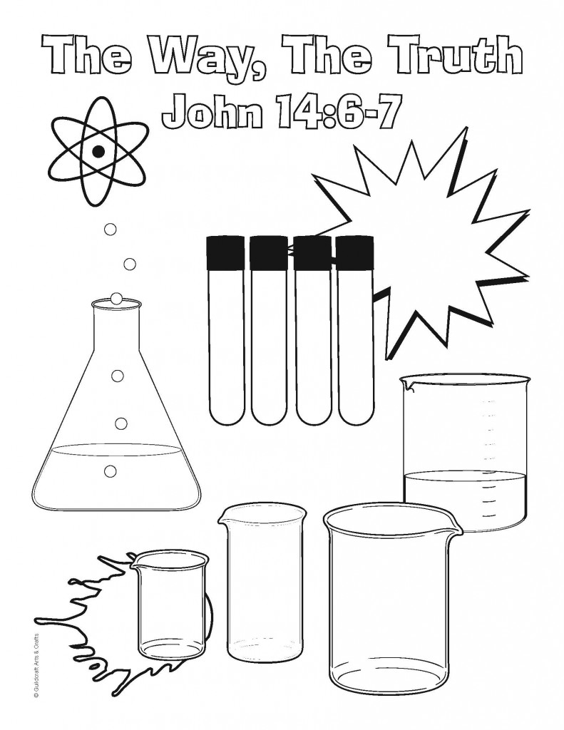 Experiment coloring pages download
