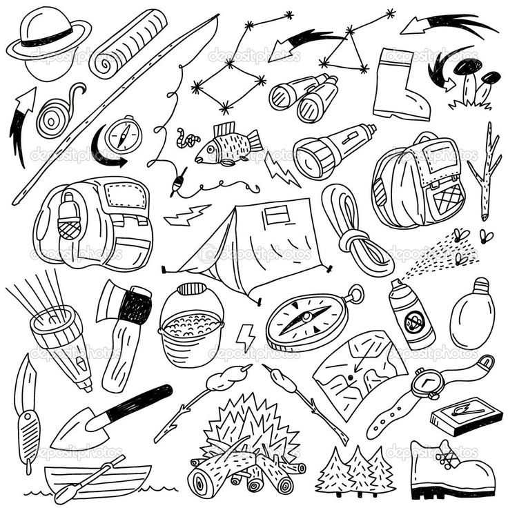 camping gear coloring pages download and print for free Grocery Store Clip Art S'mores Cute