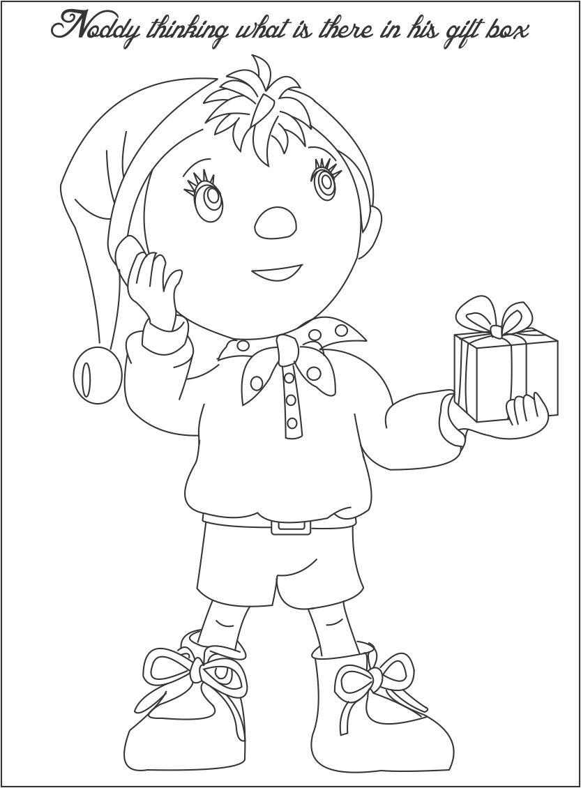noddy coloring pages - photo#26