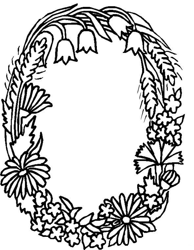 O Coloring Pages