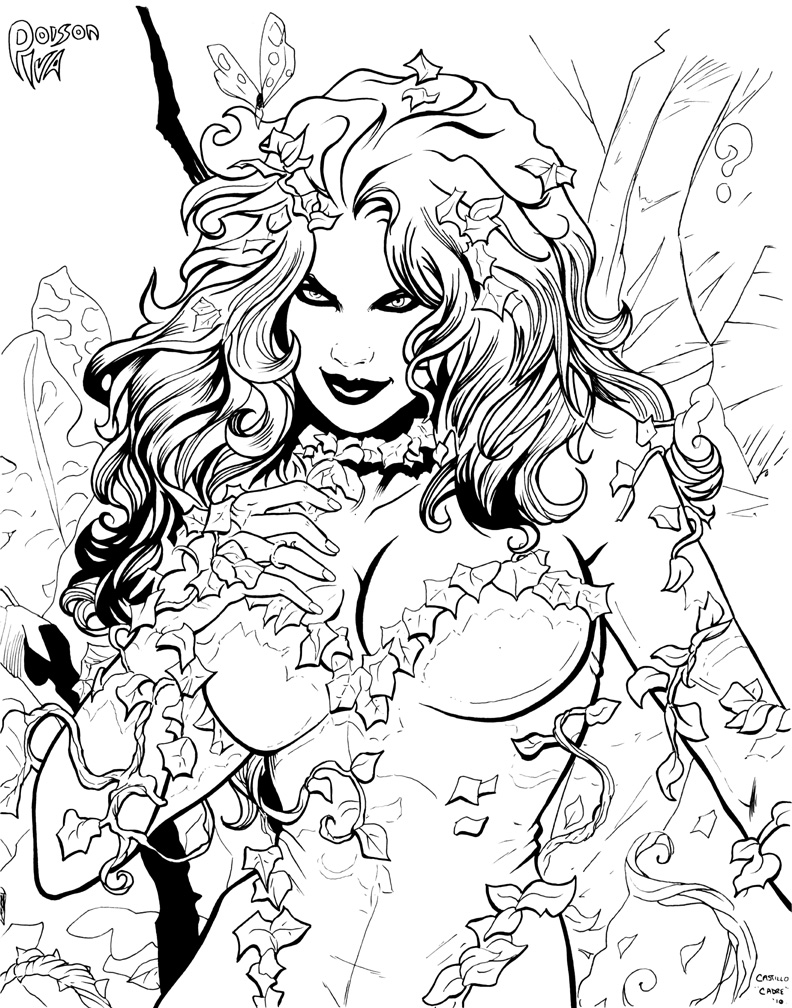 poison coloring pages - photo#7
