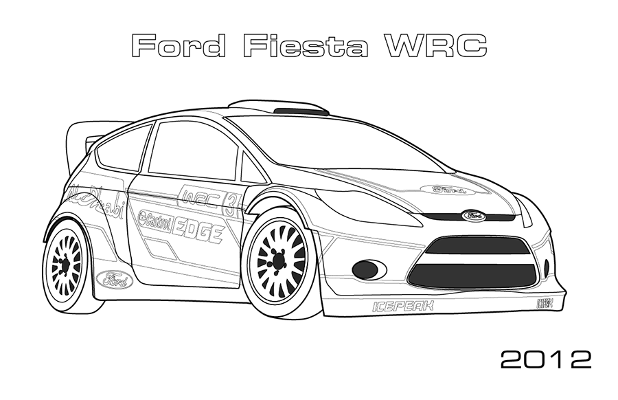ford vehicle printable coloring pages - photo#32