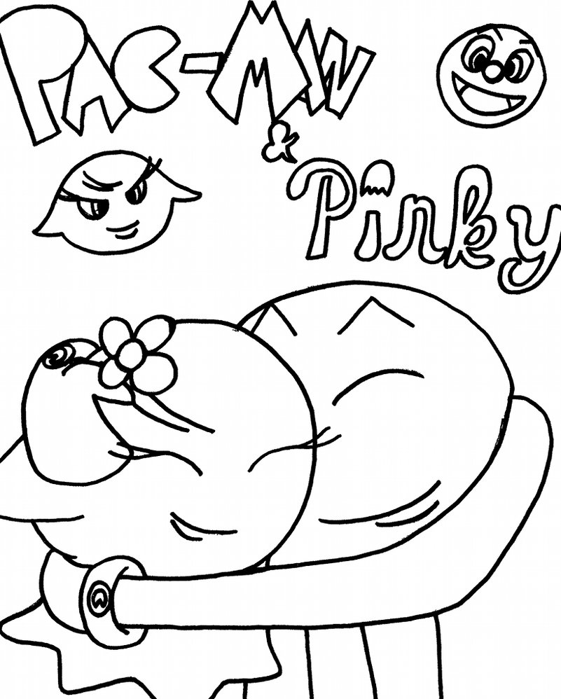 Pac man coloring pages to download and print for free Unicorn With Wings Coloring Pages