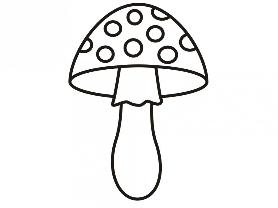 Mushroom coloring pages to download