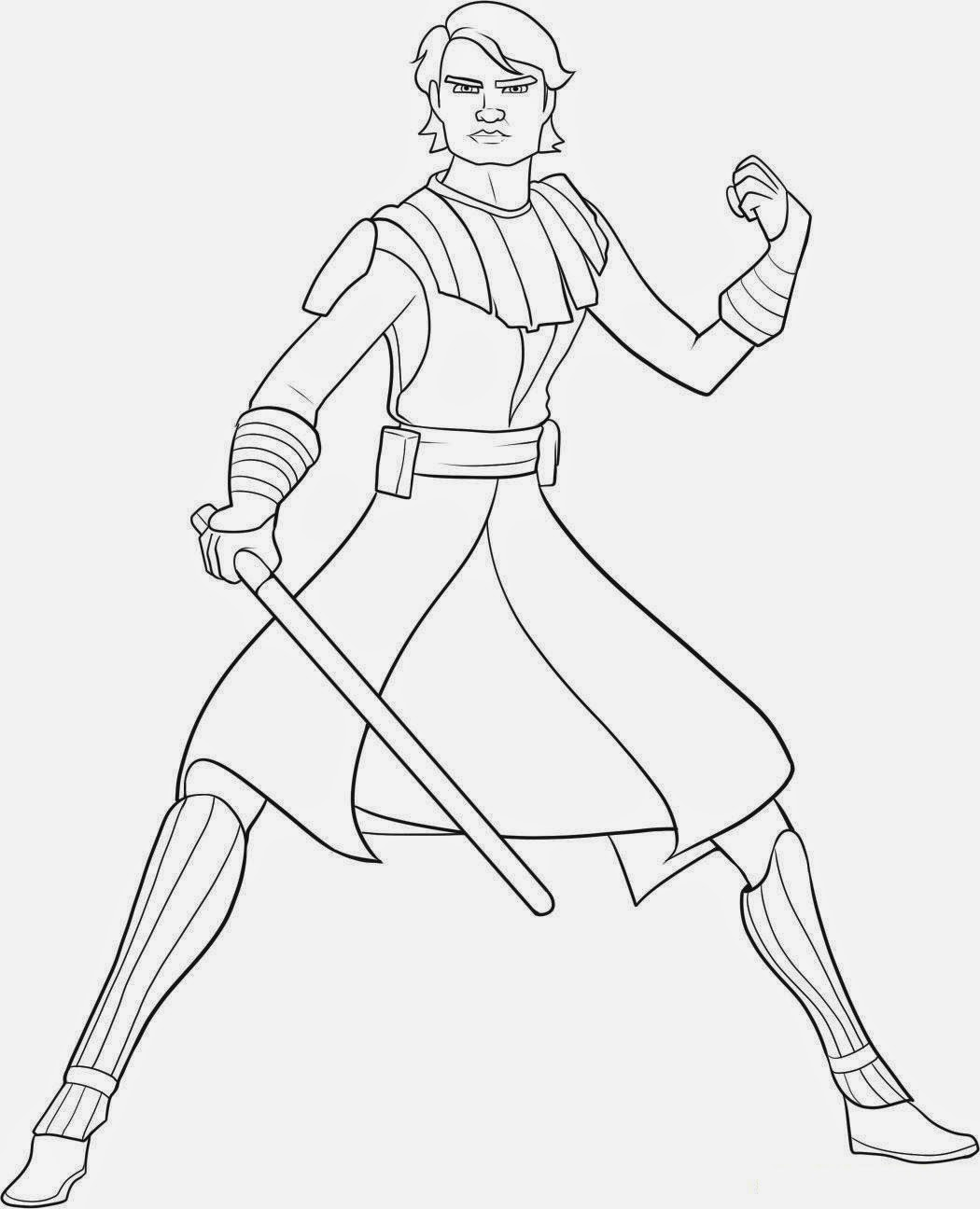 Malvorlagen Kostenlos Star Wars: Luke Skywalker Coloring Pages To Download And Print For Free