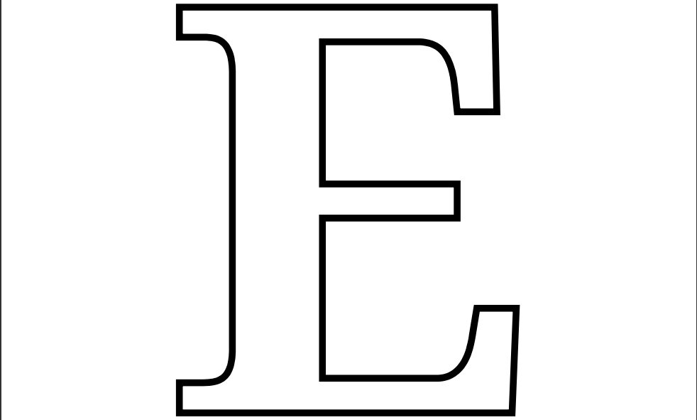 Letter E Coloring Pages on Letter P Crafts For Kindergarten