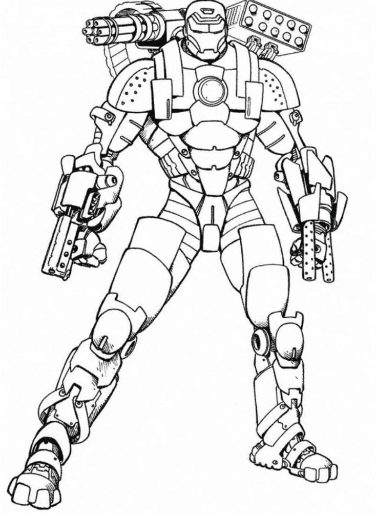 iron man coloring pages free | Ironman coloring pages to download and print for free