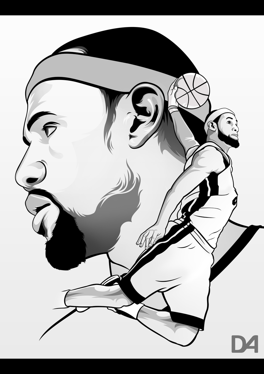 lebron james coloring pages - Lebron James Coloring Pages