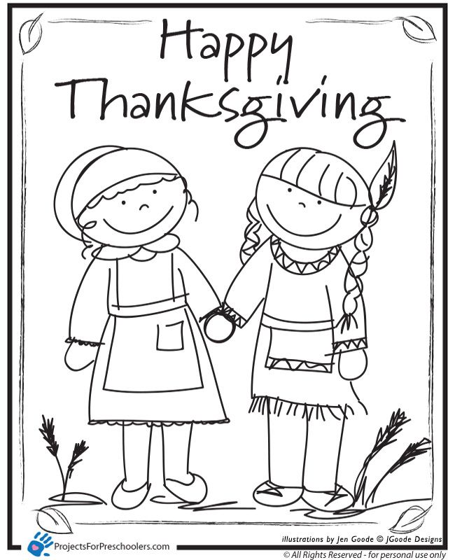Free N Fun Thanksgiving Coloring Pages : Happy thanksgiving coloring pages to download and print for free