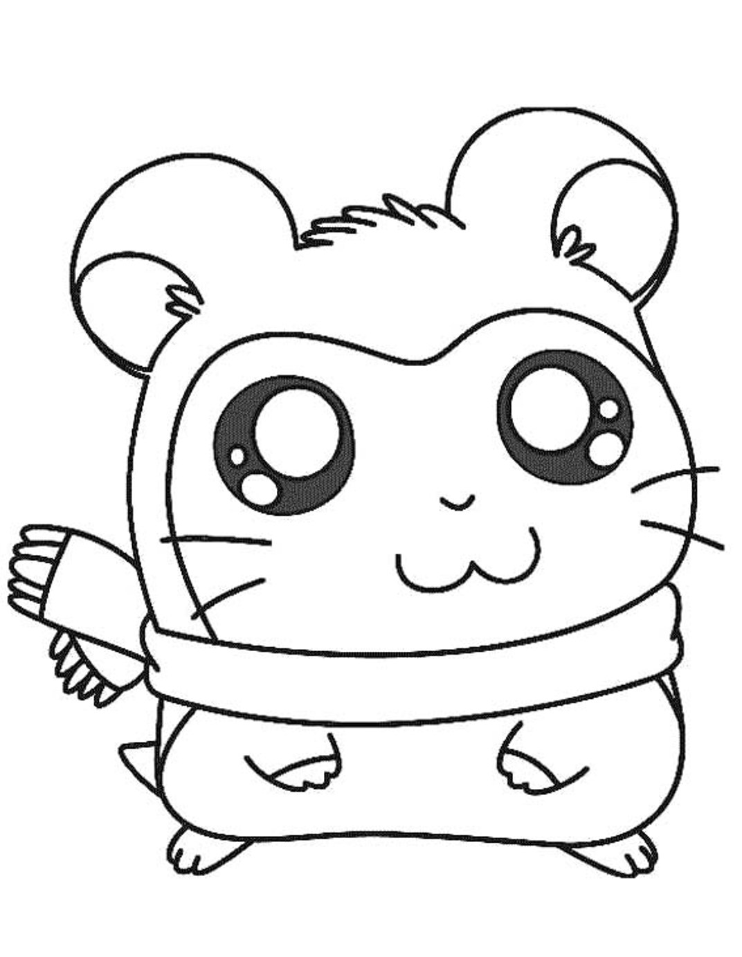 guinea pig free coloring pages | Guinea pig coloring pages to download and print for free