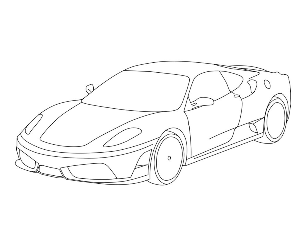 Ferrari Coloring Pages To Download And Print For Free 13 486