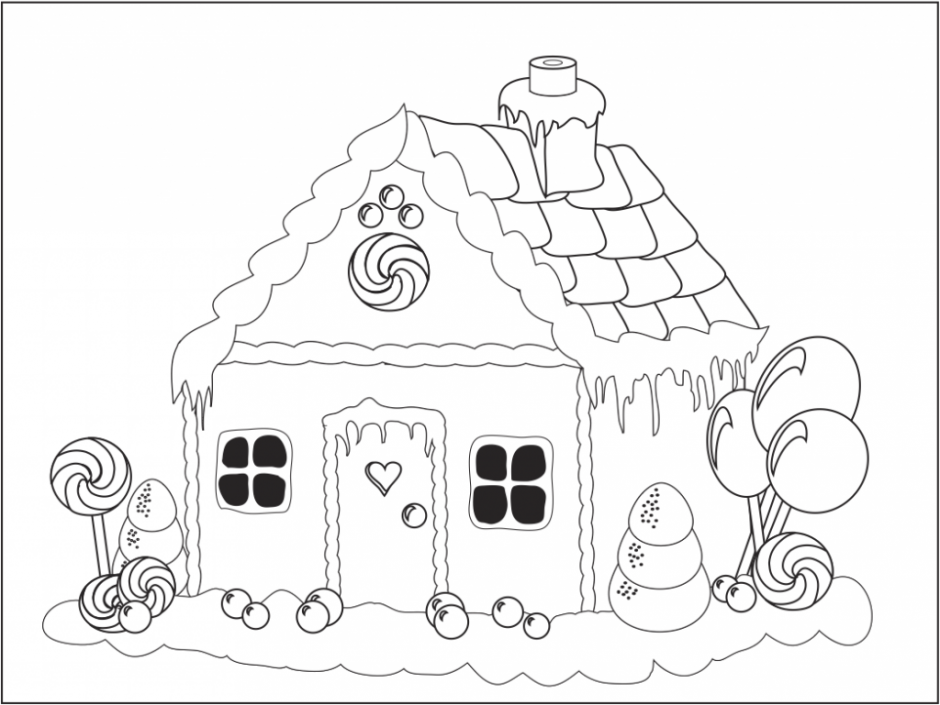 gingerbread man coloring pages free