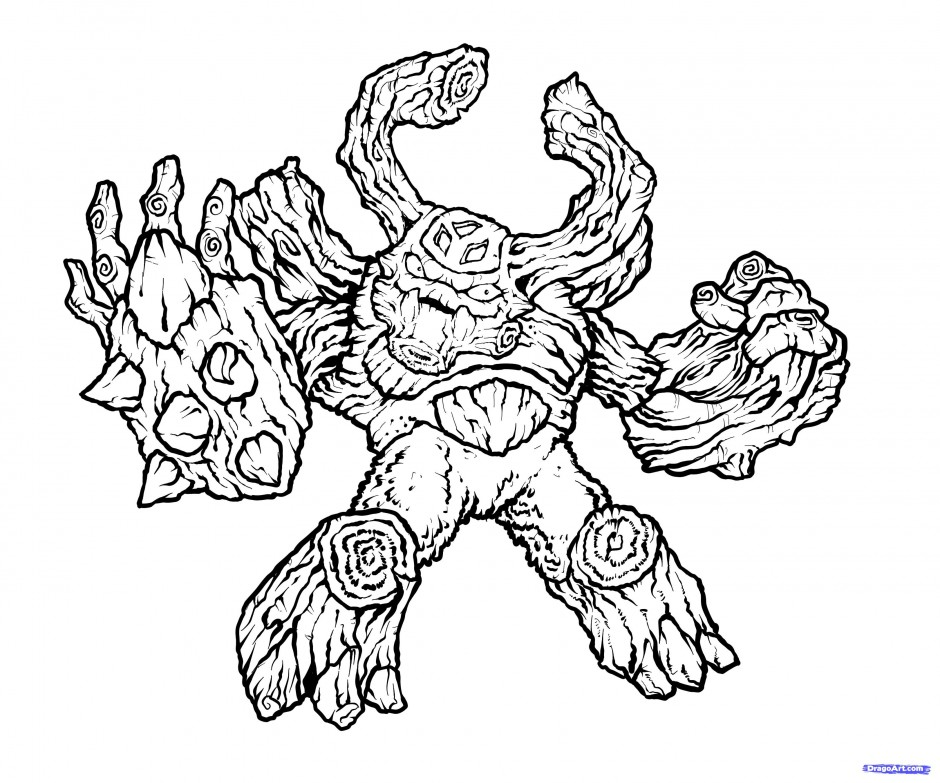 Coloring: Skylander Giant Coloring Pages Download And Print For Free