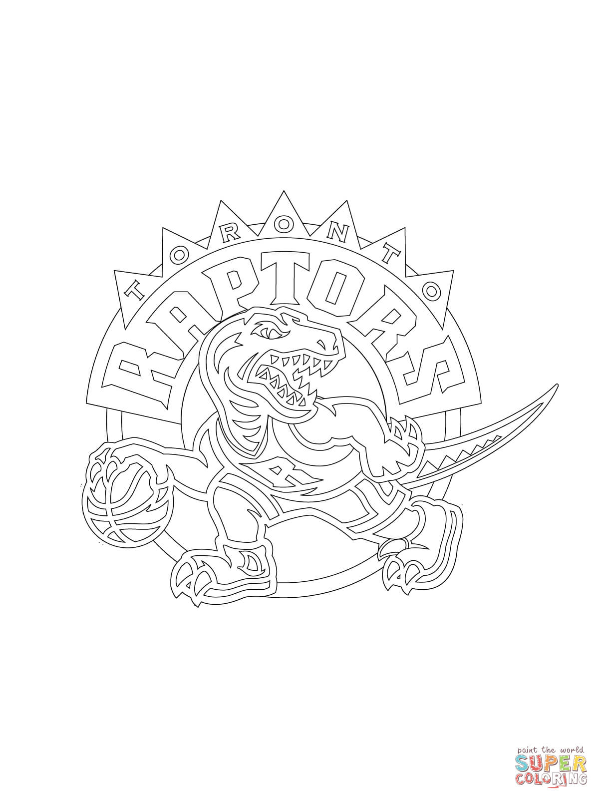 Raptor coloring pages download