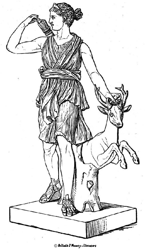 Artemis Coloring Pages Download And Print For Free