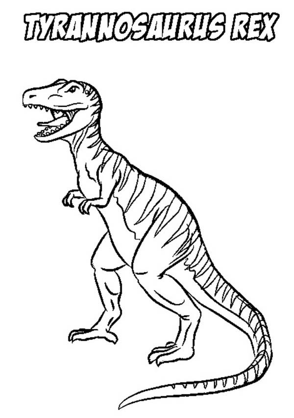 t rex coloring pages - photo #37