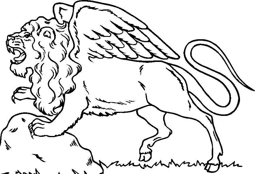 free coloring pages of lions - photo#32