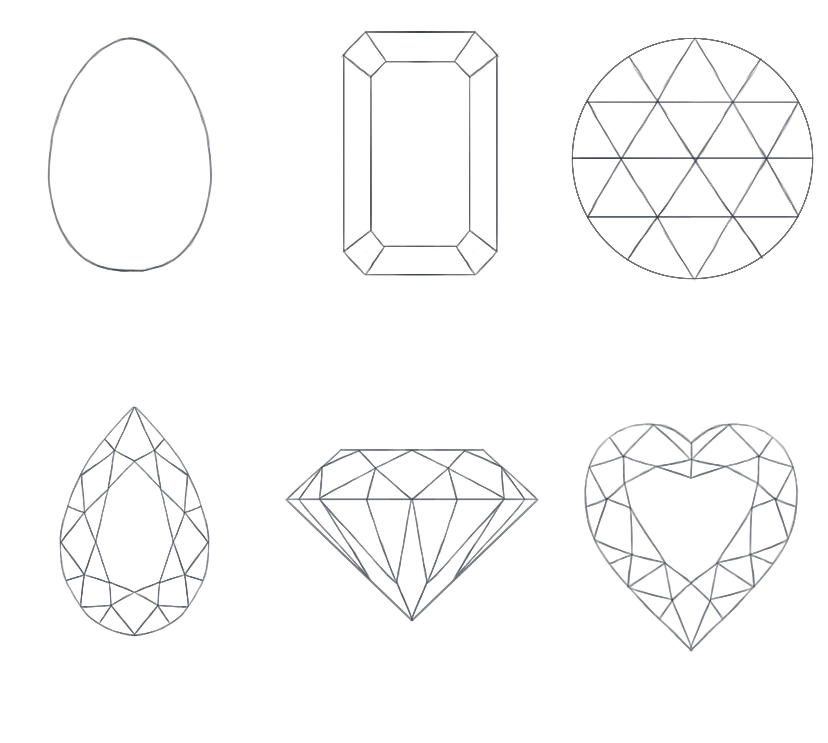 Precious Stones Coloring Pages To Download And Print For Free