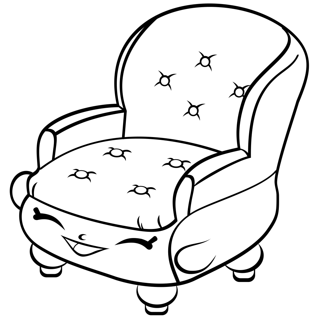Armchair coloring pages to download and print for free