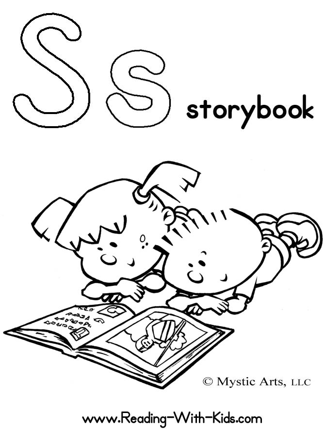 coloring pages from childrens books - photo#18