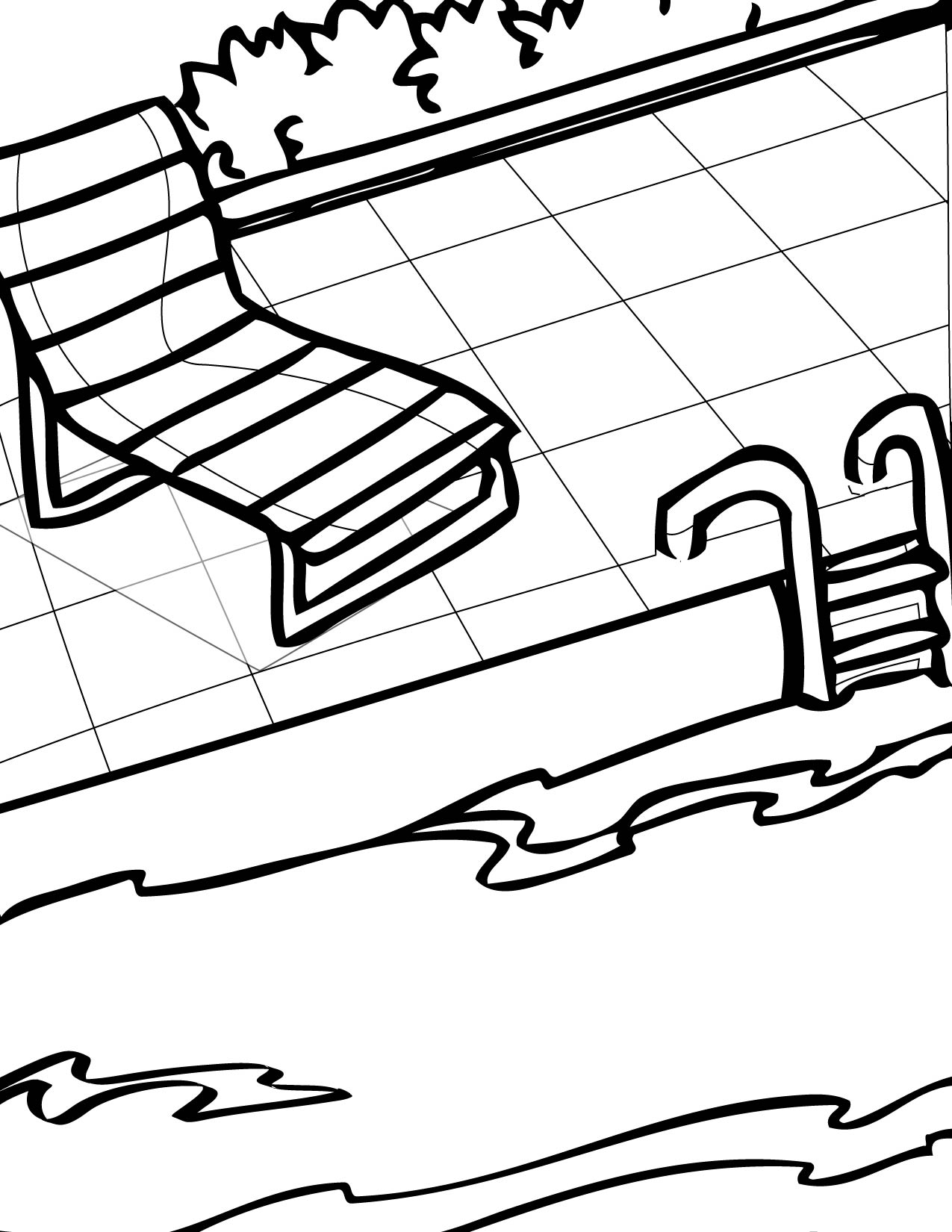 free coloring pages of pools - photo#32