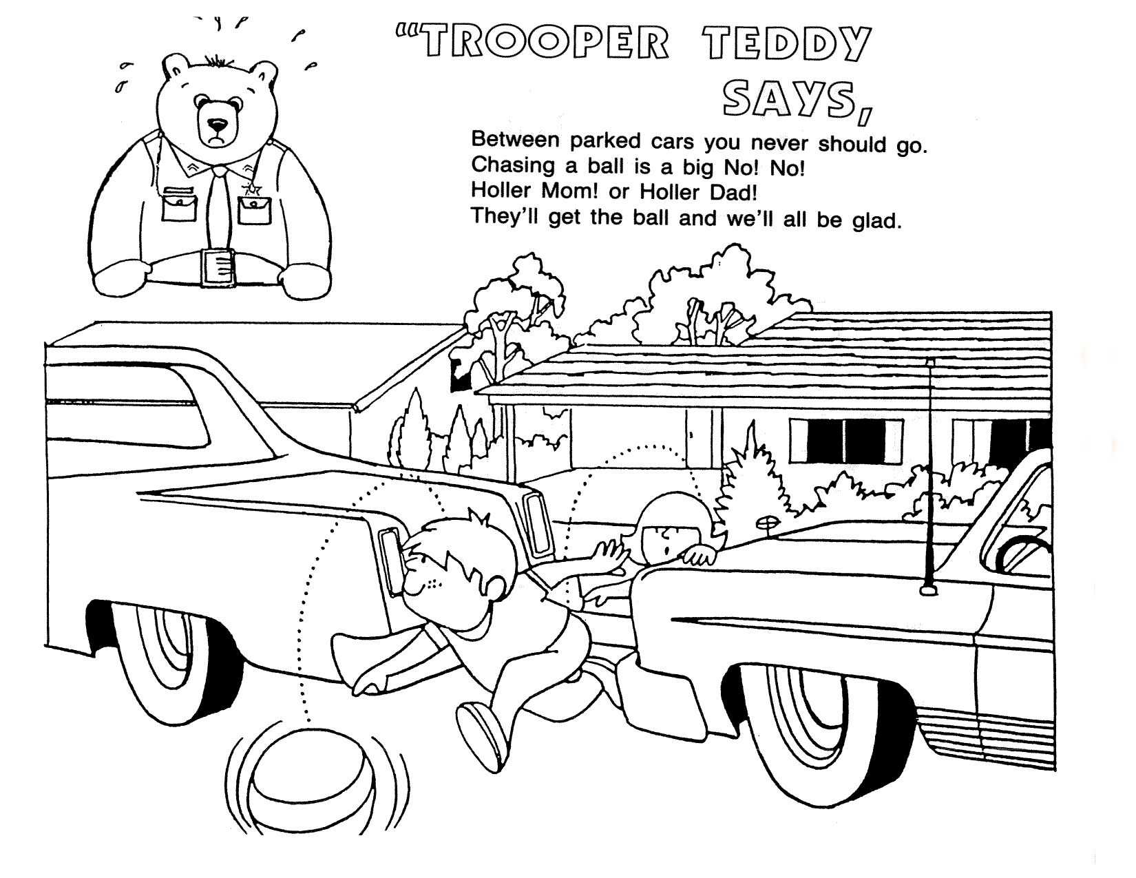 Car Safety Coloring Pages Coloring Coloring Pages