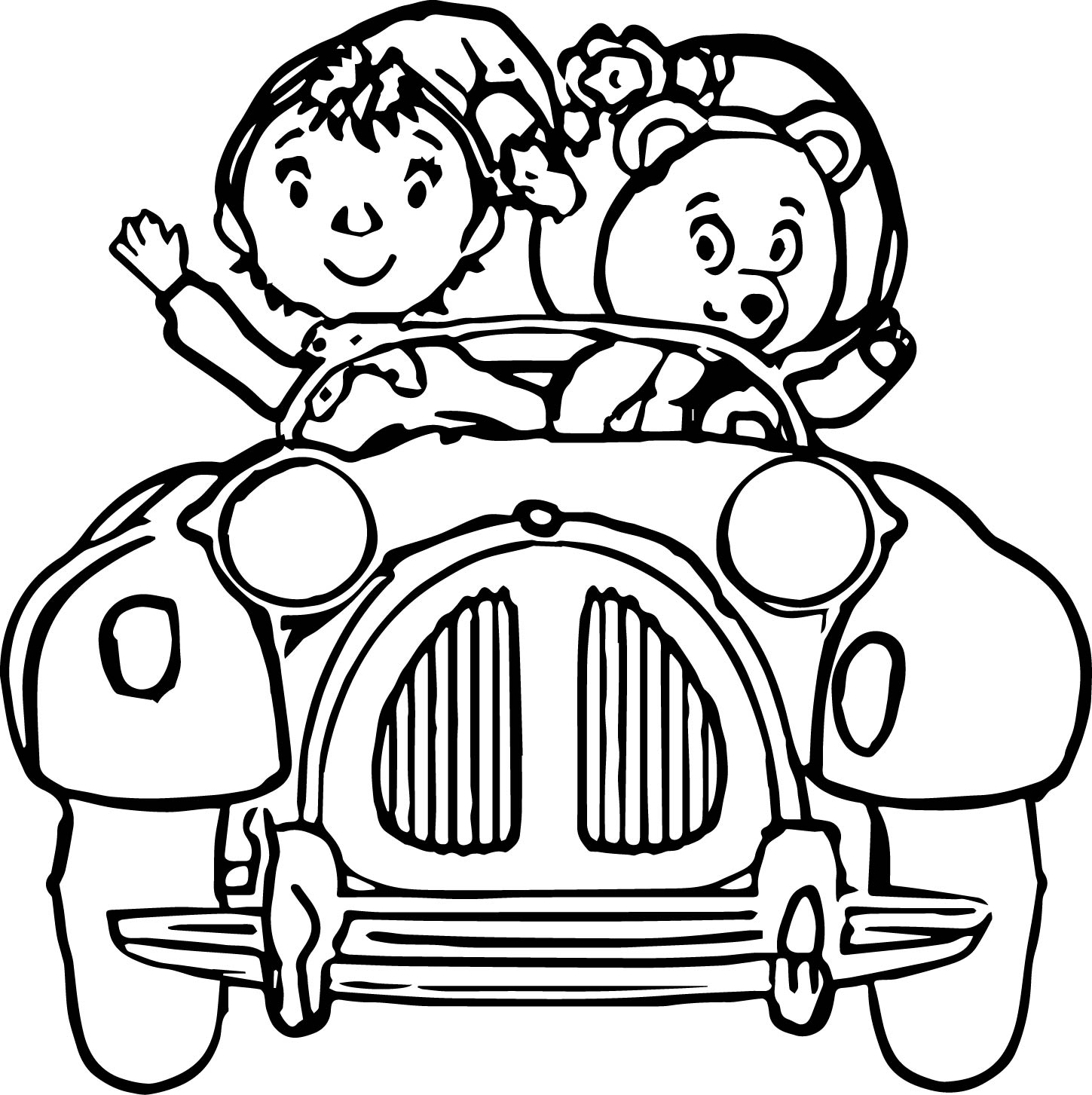 noddy coloring pages - photo#4