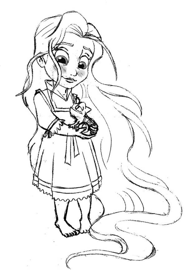 Coloring Sheet Rapunzel : Rapunzel coloring pages to download and print for free