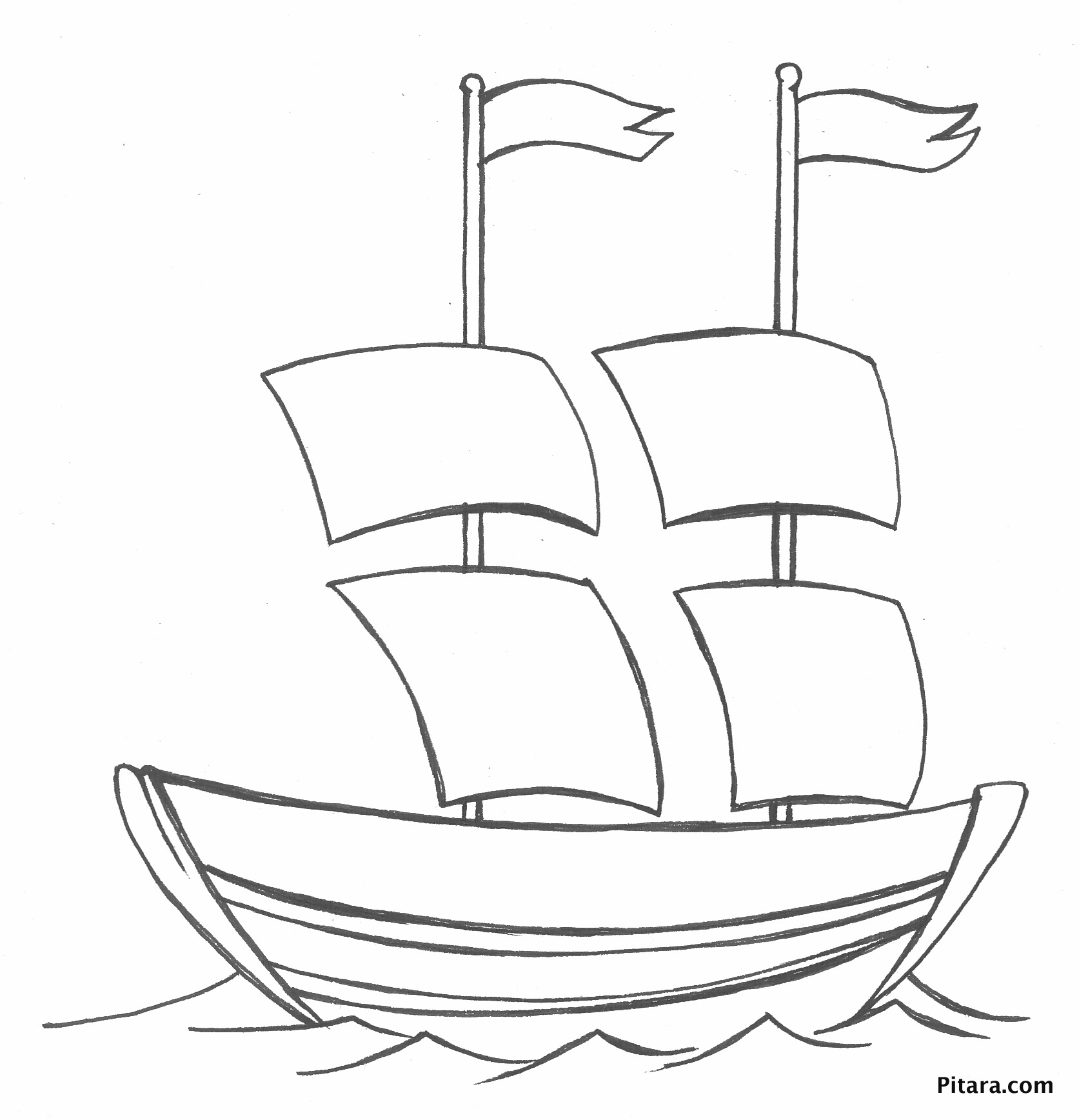 transportation coloring pages boats - photo#8