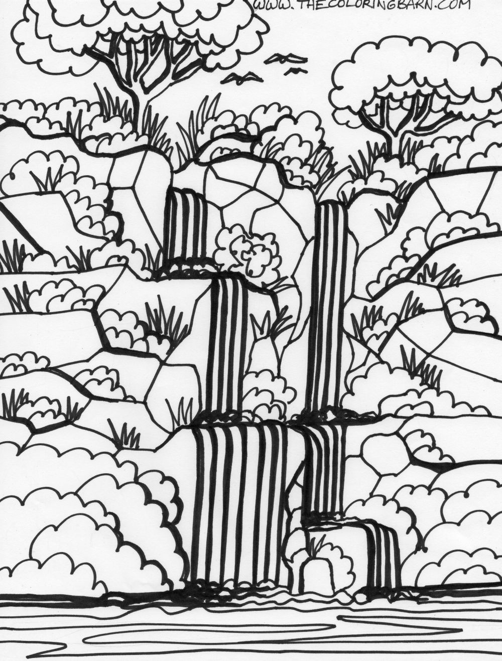 Jungle animals coloring pages for kids - Rainforest Coloring Sheets Free Pages Endangered Parrot Animal Coloring Page