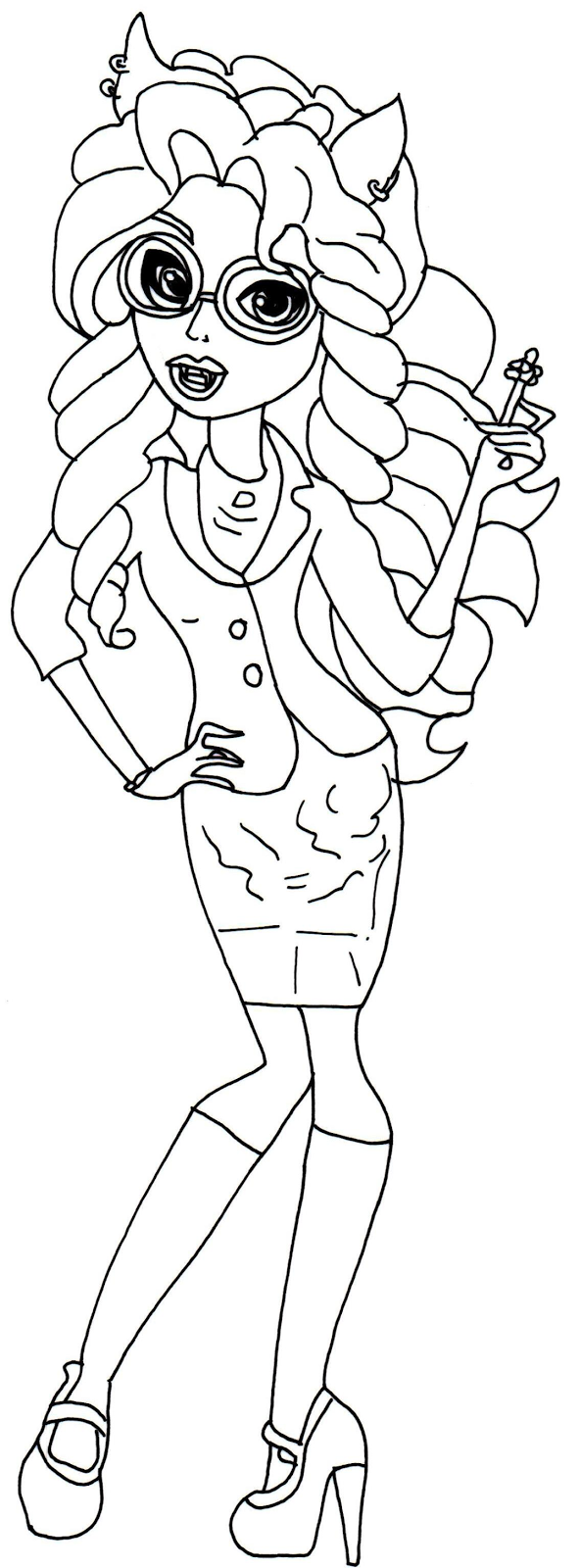 Howleen wolf coloring pages download