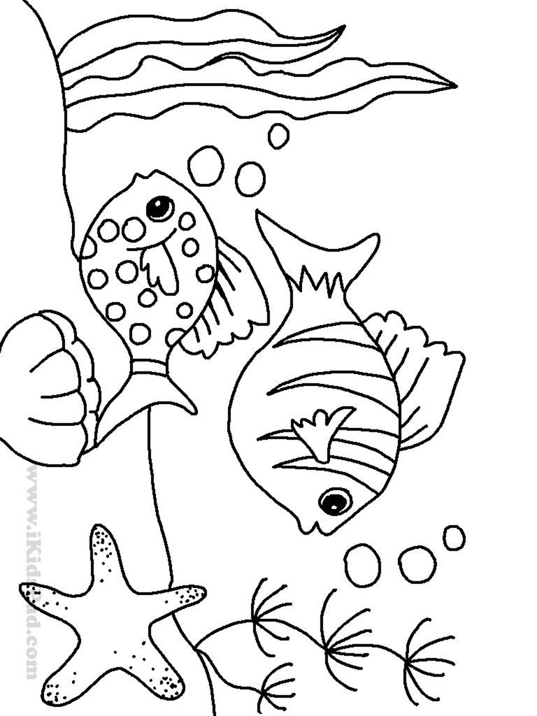 free coloring pages sea creatures - photo#23