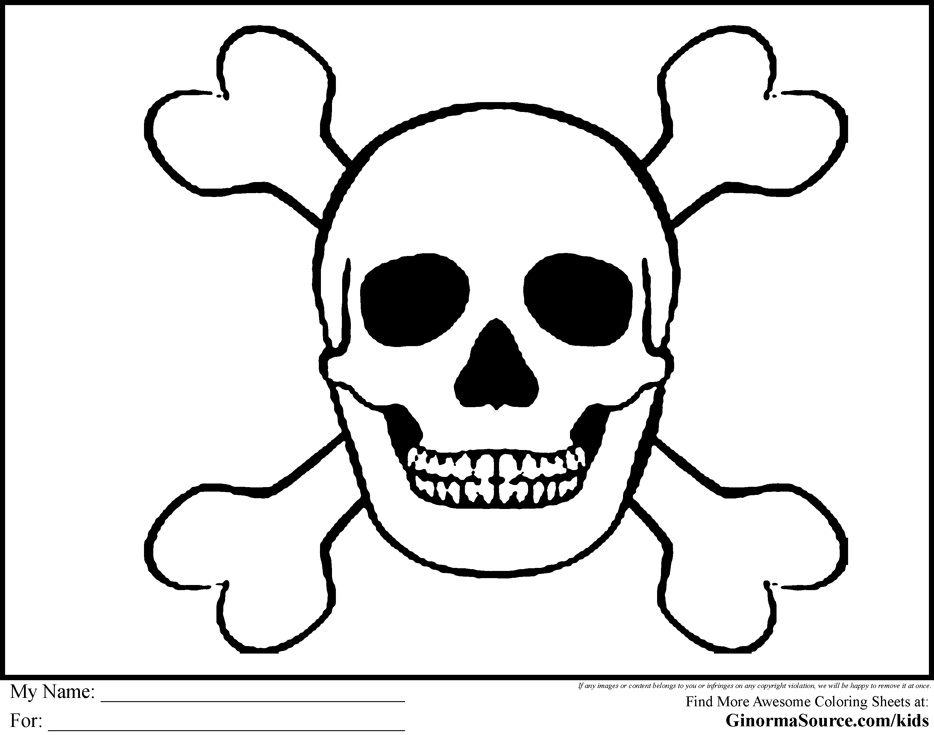 Pirate coloring pages to download and print for free