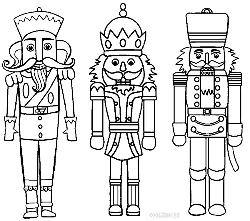 Nutcracker Coloring Pages To Download And Print For Free Free Nutcracker Coloring Pages