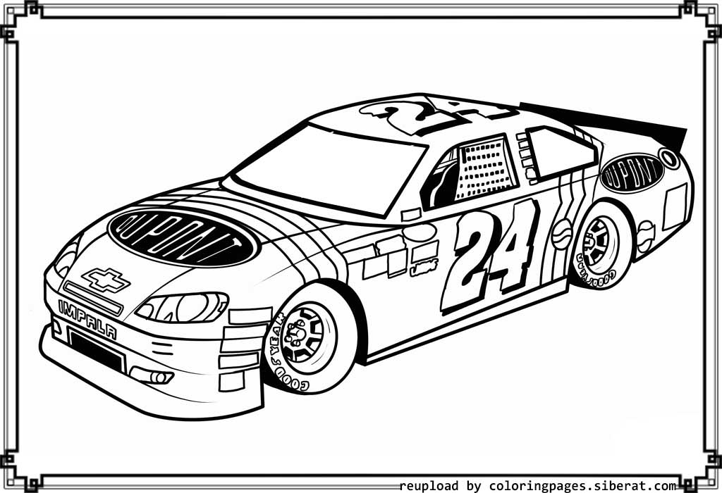 Nascar coloring pages to print coloring page for Nascar 88 coloring pages