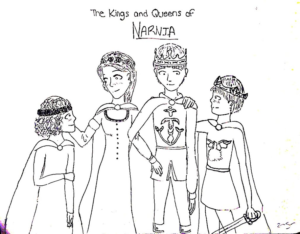 Narnia coloring pages to download