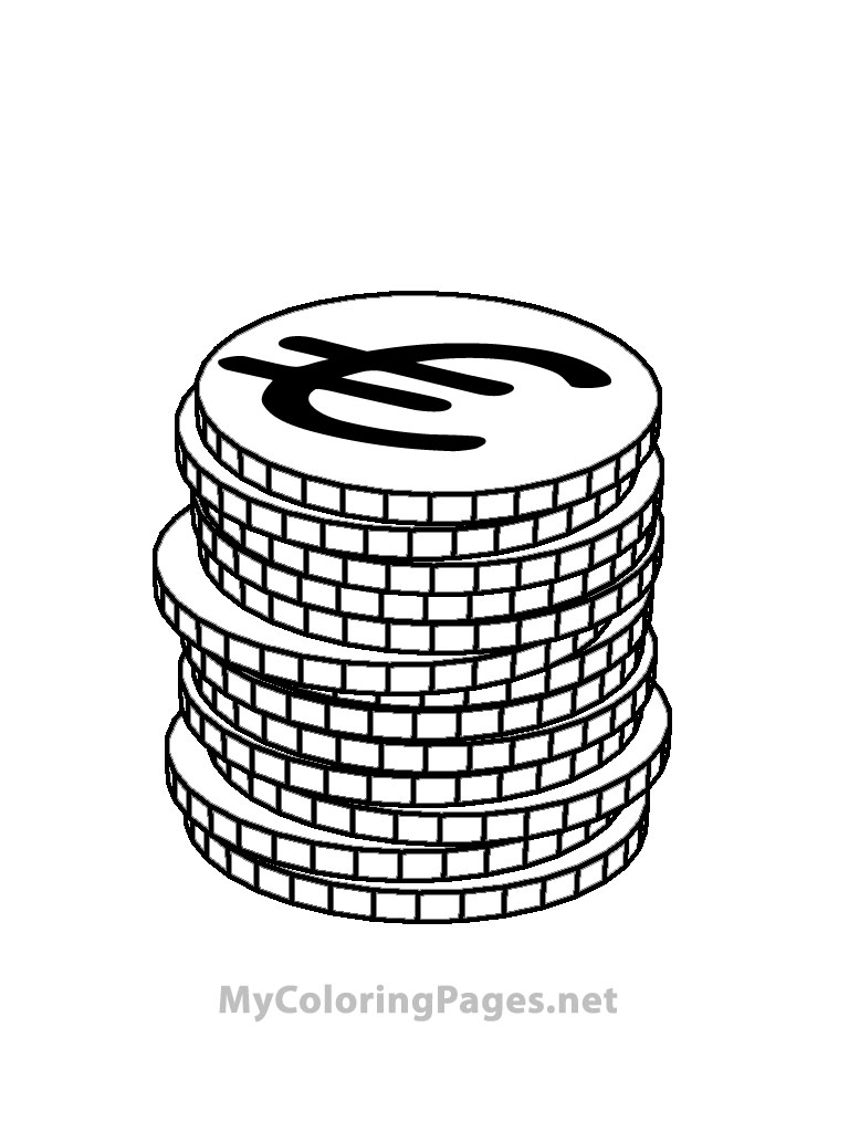 Money Sign Coloring Pages. money color pages az coloring pages. money sign coloring  pages. money coloring pages money coloring pages printable kids coloring.  money sign coloring pages half dollar coin coloring page | 1024x768